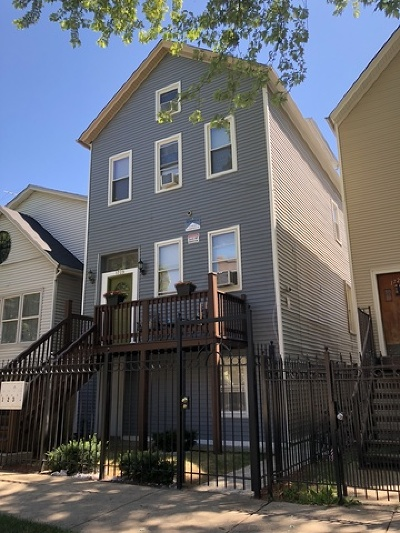 Chicago Multi Family Home For Sale: 1729 North Fairfield Avenue