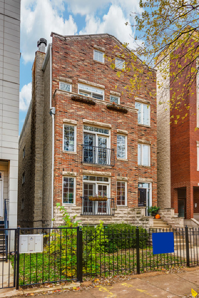 Condo/Townhouse For Sale: 857 North Wood Street #2