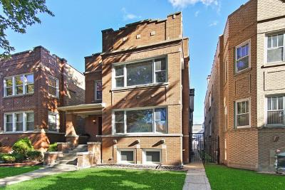Chicago Multi Family Home New: 3829 North Sawyer Avenue