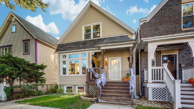 Single Family Home For Sale: 3406 North Albany Avenue