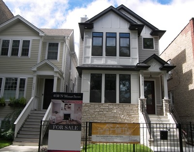 Chicago Single Family Home For Sale: 4138 North Mozart Street