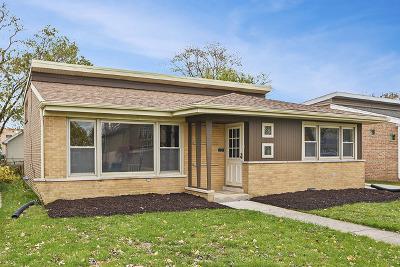 Oak Lawn Single Family Home For Sale: 10629 South Keeler Avenue