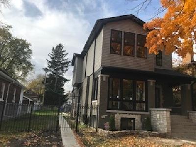 Chicago Single Family Home For Sale: 9606 South Damen Avenue