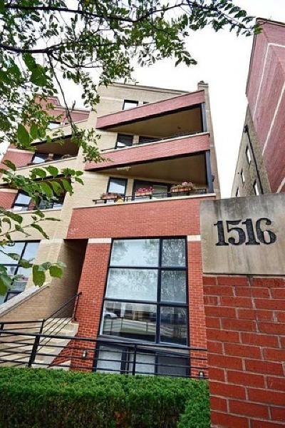 Condo/Townhouse For Sale: 1516 West Grand Avenue #4W