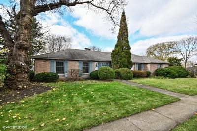 Elgin Single Family Home Price Change: 88 North McLean Boulevard North