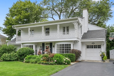 Glenview Single Family Home For Sale: 914 Wagner Road