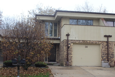 Palos Heights Condo/Townhouse For Sale: 31 Sorrento Drive
