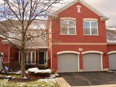 Lake Zurich Condo/Townhouse For Sale: 42 Lakebreeze Court