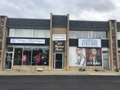 South Holland Commercial For Sale: 837 East 162nd Street #1