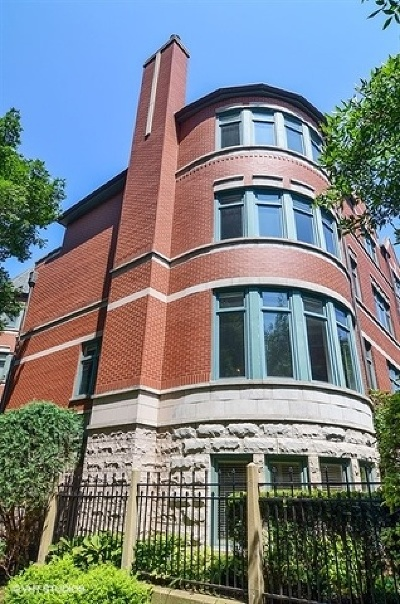 Chicago Condo/Townhouse For Sale: 1436 South Prairie Avenue #A