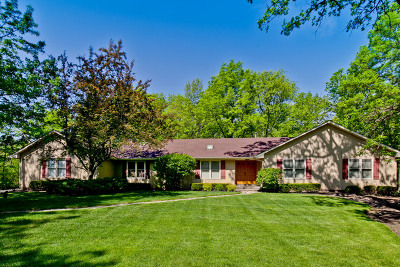 Libertyville Single Family Home Price Change: 1823 Saddle Hill Road