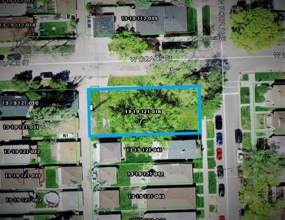 Chicago Residential Lots & Land For Sale: 3760 North Nora Avenue
