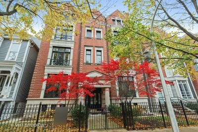 Condo/Townhouse For Sale: 849 West Wrightwood Avenue #1E