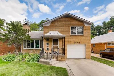 Riverside Single Family Home For Sale: 373 Desplaines Avenue