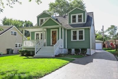Westmont Single Family Home Price Change: 4008 North Washington Street