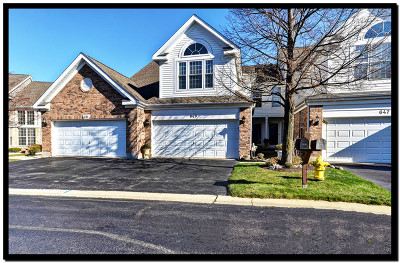 Westmont Condo/Townhouse For Sale: 649 Citadel Drive