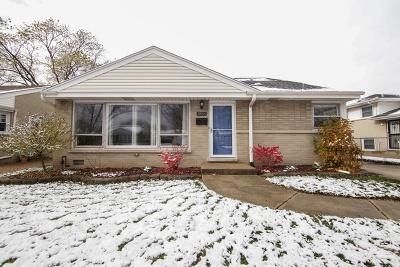 Niles Single Family Home New: 8846 North Merrill Street