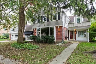 Wilmette Single Family Home New: 2133 Greenwood Avenue