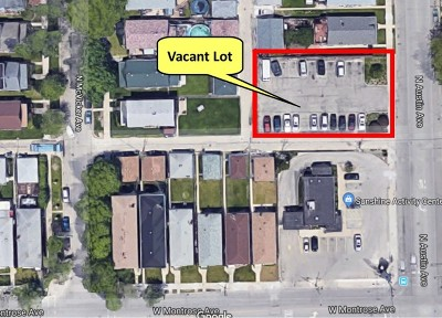 Chicago Residential Lots & Land New: 4420 North Austin Avenue