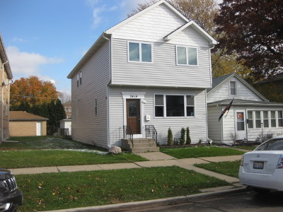 Elmwood Park Single Family Home For Sale: 2419 North 75th Court