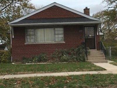 Single Family Home For Sale: 12715 South Justine Street