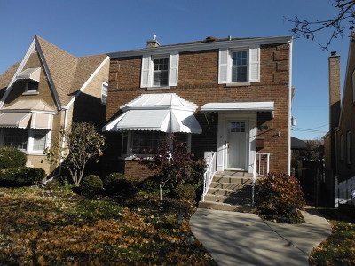 Elmwood Park Single Family Home For Sale: 1821 North 75th Court