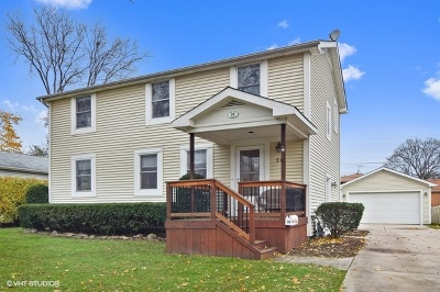 Roselle Single Family Home For Sale: 26 West Glenlake Avenue