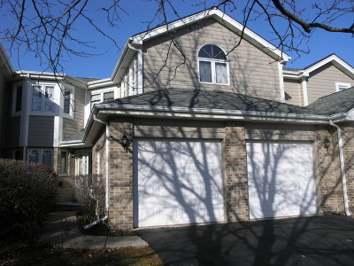Orland Park Condo/Townhouse For Sale: 11836 Cormoy Lane
