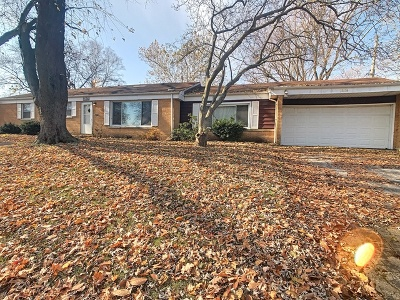 Matteson Single Family Home Price Change: 21326 Butterfield Parkway