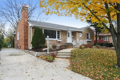 Glen Ellyn Single Family Home For Sale: 184 North Main Street