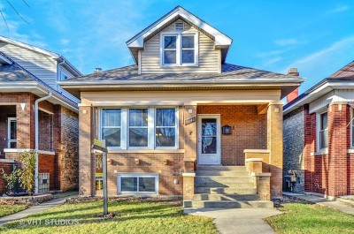 Chicago Single Family Home New: 5040 North Lowell Avenue