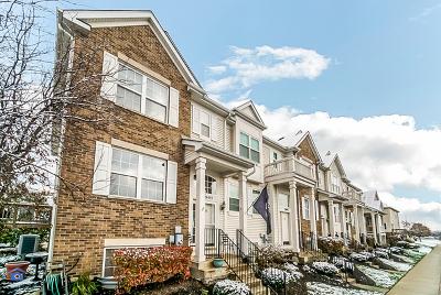 Plainfield Condo/Townhouse For Sale: 24445 John Adams Drive