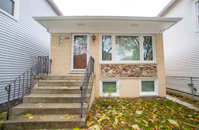 Cook County Single Family Home New: 4630 North Avers Avenue