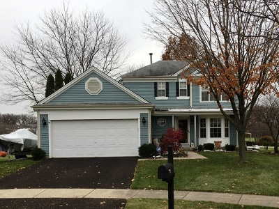 Carol Stream Single Family Home For Sale