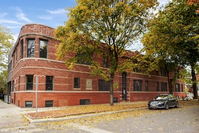 Cook County Condo/Townhouse New: 1956 West Bradley Place #1E