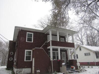 Hazel Crest Rental For Rent: 16761 Lincoln Street #2