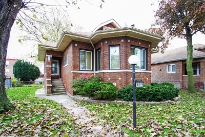 Cook County Single Family Home New: 8025 South Oglesby Avenue