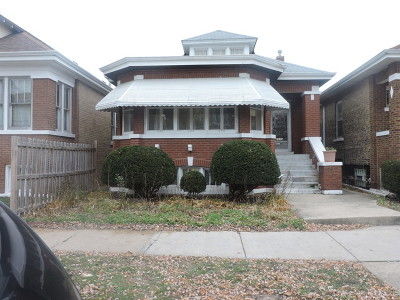 Cook County Single Family Home New: 6535 South Francisco Avenue