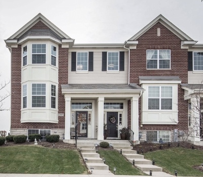 Orland Park Condo/Townhouse New: 10589 153 Rd Place