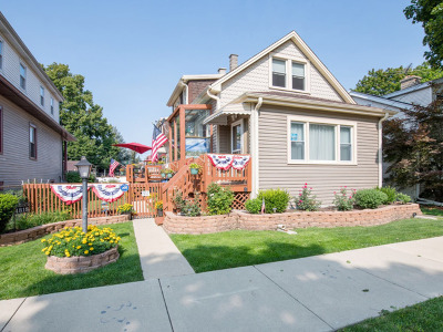 Chicago Single Family Home For Sale: 4818 North Menard Avenue
