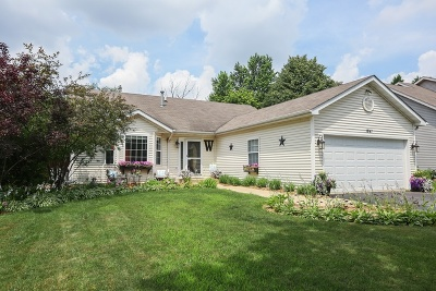 Crest Hill Single Family Home For Sale: 1841 Springside Drive