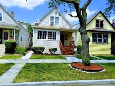 Portage Park Single Family Home For Sale: 5010 West Waveland Avenue