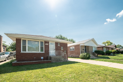 Dolton Single Family Home New: 14435 Kimbark Avenue