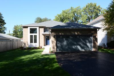 Wood Dale Single Family Home New: Lot 5 Edgewood Avenue