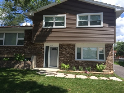 Tinley Park IL Single Family Home Contingent: $220,000