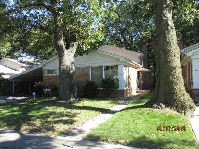 Dolton Single Family Home New: 14831 Dobson Avenue