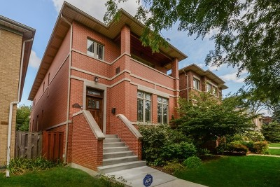 Chicago Single Family Home New: 3817 North Kenneth Avenue
