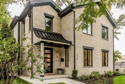 Evanston Single Family Home For Sale: 1320 Jenks Street