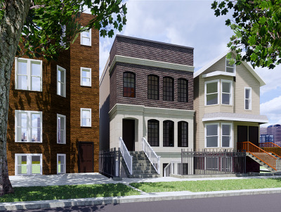 Chicago Single Family Home New: 2331 West Barry Avenue