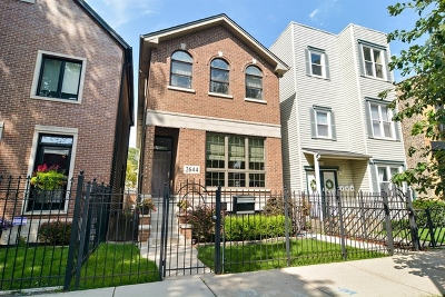 Chicago Single Family Home New: 2644 West Cortland Street